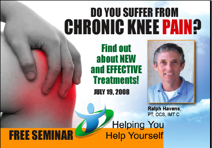Chronic Knee Pain Seminar – San Diego, CA